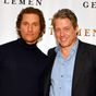 Hugh Grant set his dad up on a date with Matthew McConaughey's mum