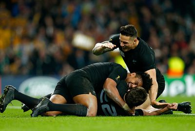 Sonny Bill Williams came off the bench at halftime and sparked the All Blacks.