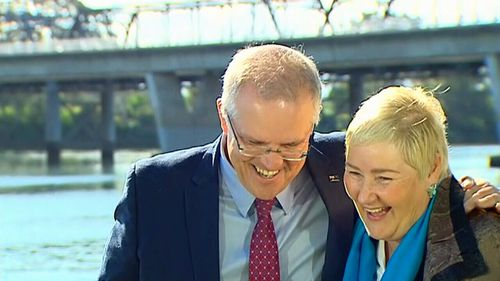"Scott Morrison said Liberal MP Ann Sudmalis was in the ""warm embrace of the government""."