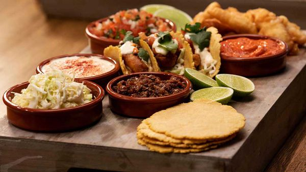 Tom Parker Bowles Family Food Fight Baja fish tacos