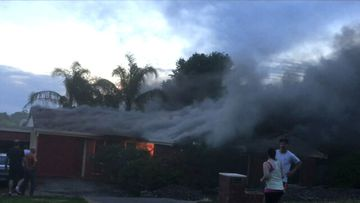 Firefighters battle two blazes in Adelaide
