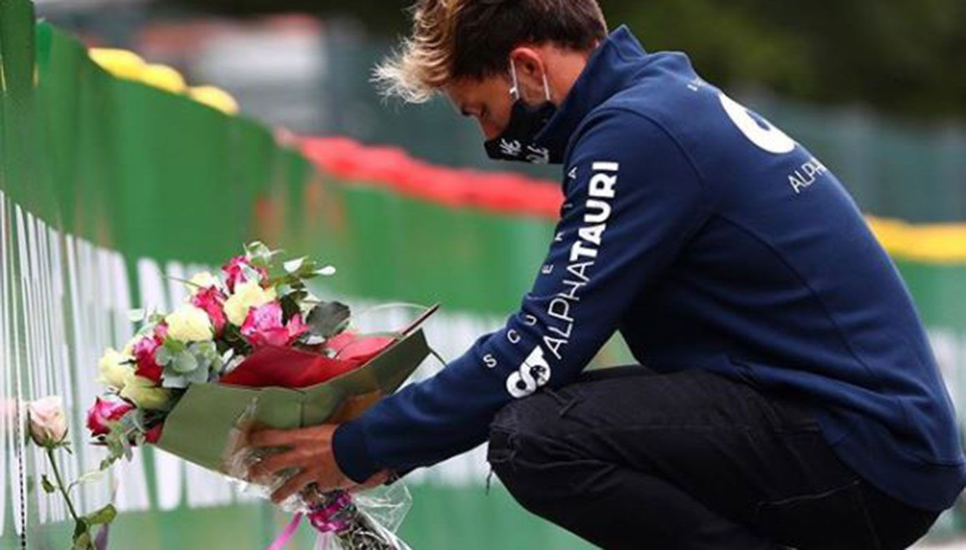 Drivers pay tribute to Anthoine Hubert one year after fatal F2 crash
