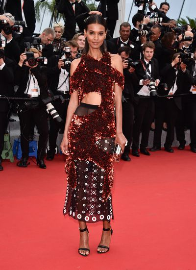 <p><strong>Day two<br></strong>Liya Kebede in&nbsp;Proenza Schouler&nbsp;</p>