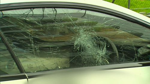 A police report was not made until later on in the day. Image: 9News
