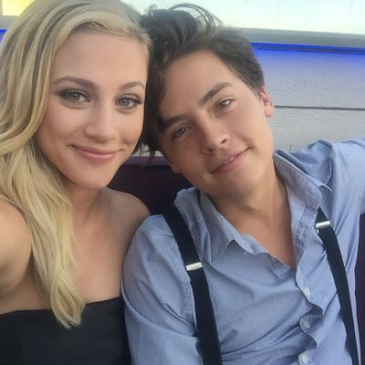 Cole Sprouse and Lili Reinhardt