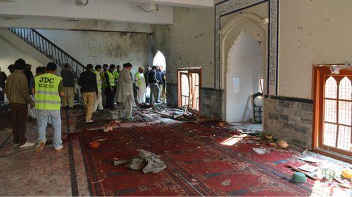Massive bomb blast at Pakistani mosque kills more than 60 people