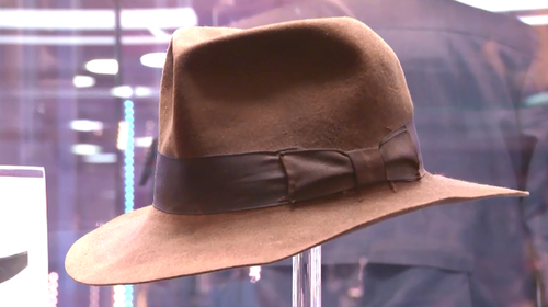 For adventurers out there, Dr Jones' hat is up for auction.