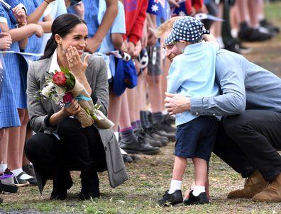 Prince Harry Meghan Markle Dubbo little boy