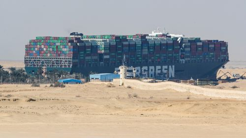 Syria forced to ration fuel as stricken ship keeps Suez Canal blocked