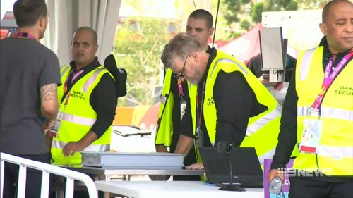 Just days into the Commonwealth Games, around nine percent of the security guards have left their jobs. (9NEWS)