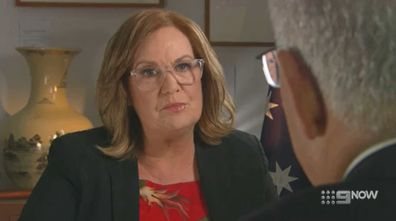 'Where were you?': Grimshaw says she believes Mr Morrison and his office were aware of her approach ahead of the sit-down.