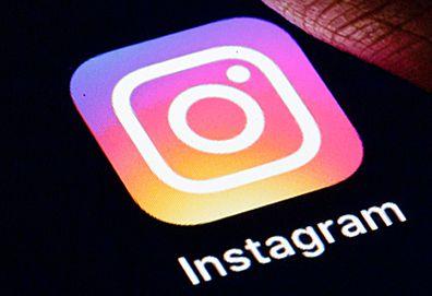 Instagram app button (Getty)
