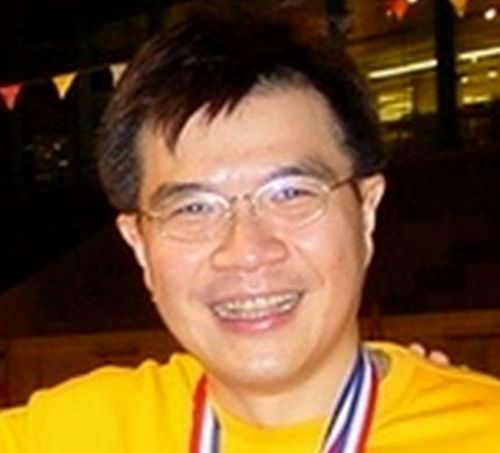 Khaw Kim-Sun, 53, was found guilty and sentenced for placing the inflatable ball in the same car his wife and daughter were sitting in as it leaked the deadly gas in 2015.