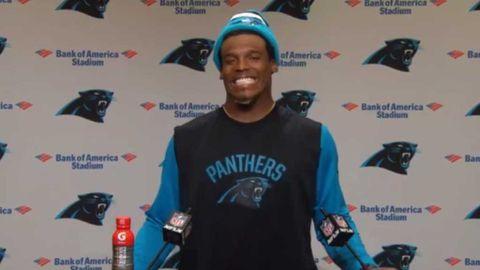 Newton patronises female NFL reporter