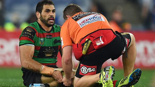 Inglis recently underwent arthroscopic surgery on his injured knee. (Getty)