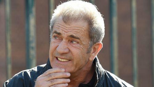 Mel Gibson in Sydney in July. (AAP)