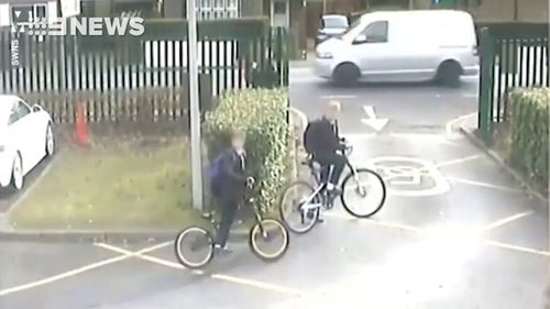 Two students were present at the time of the incident. (Surrey Police)