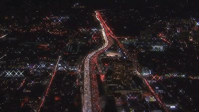 Traffic chaos as US gets ready for Thanksgiving