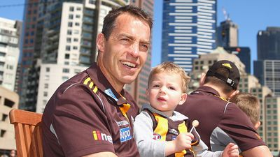Alastair Clarkson was hospitalised in May, diagnosed with Guillain-Barré Syndrome. The Hawthorn senior coach managed to return as in time to see the Hawks make the Grand Final. (Getty Images)