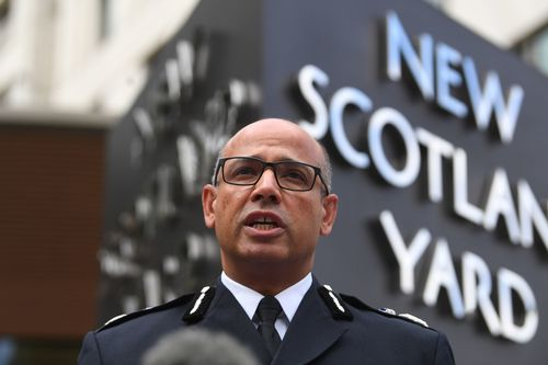 Metropolitan Police Assistant Commissioner Neil Basu said the suspect driver was not known to authorities and is currently not negotiating with officers.