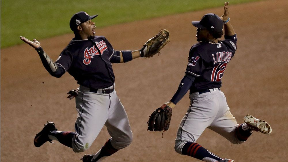 Indians a win away from World Series title