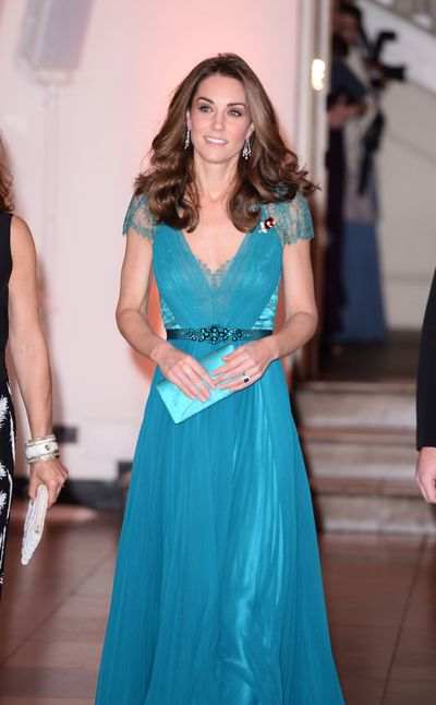 Kate Middleton recycles six-year-old dress