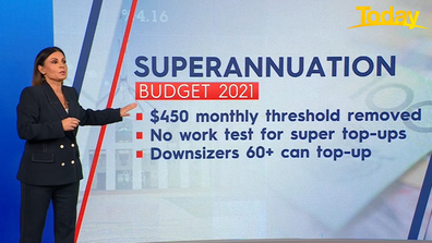 The following measures will 'boost super' Zahos said.