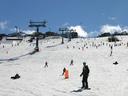 Winter in Perisher ski resort