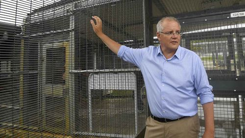 Scott Morrison is the first prime minister to visit Christmas Island.