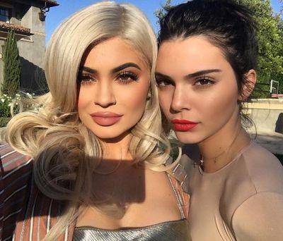 13. Selfie sisters: with Kylie Jenner<em></em>
