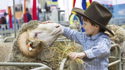 The Easter Show Sydney. (AAP)