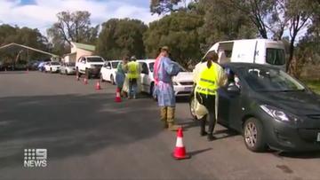 SA border checkpoint