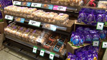 Too soon? Just days after Christmas, hot cross buns are being sold at Australian supermarkets.