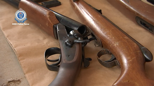 One man was charged with possessing ammunition without a gun licence.
