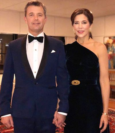 Princess Mary and Crown Prince Frederik in London, November 14