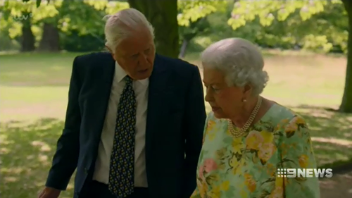 Elizabeth and famed documentarian David Attenborough recently appeared on a television special together.