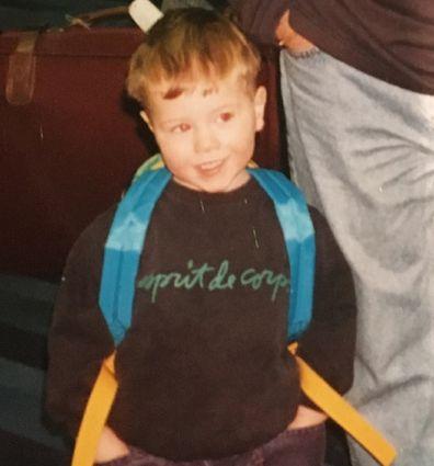 Sam as a toddler