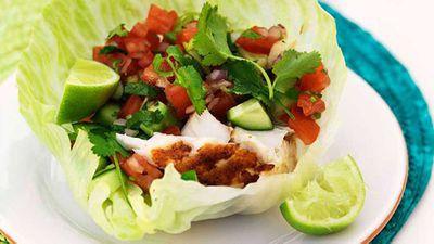 """<a href=""""http://kitchen.nine.com.au/2016/05/13/12/44/fish-tacos"""" target=""""_top"""" draggable=""""false"""">Fish 'tacos'</a> recipe"""