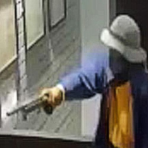 Its alleged two men entered the Bonny View Hotel at Bald Hills just after 3am last Friday, with one of the men proceeding to point a gun at one of the staff members.