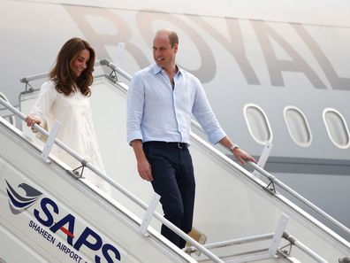Kate Middleton and Prince William on tour in Pakistan.