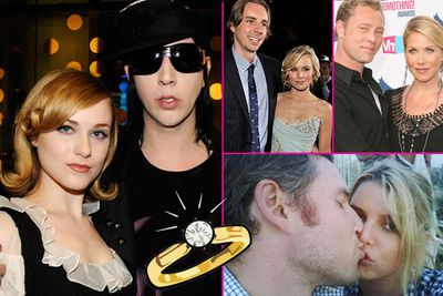 <b>Also engaged:</b> Michael Bublé & Luisana Loreley Lopilato de la Torre, Seth Rogen & Lauren Miller, Christina Applegate & Martyn LeNoble, Kristen Bell & Dax Shepard, Simon Cowell & Mezhgan Hussainy, Jessica Simpson & Eric Johnson, Nick Lachey and Vanessa Minillo, Marilyn Manson & Evan Rachel Wood.<br/>