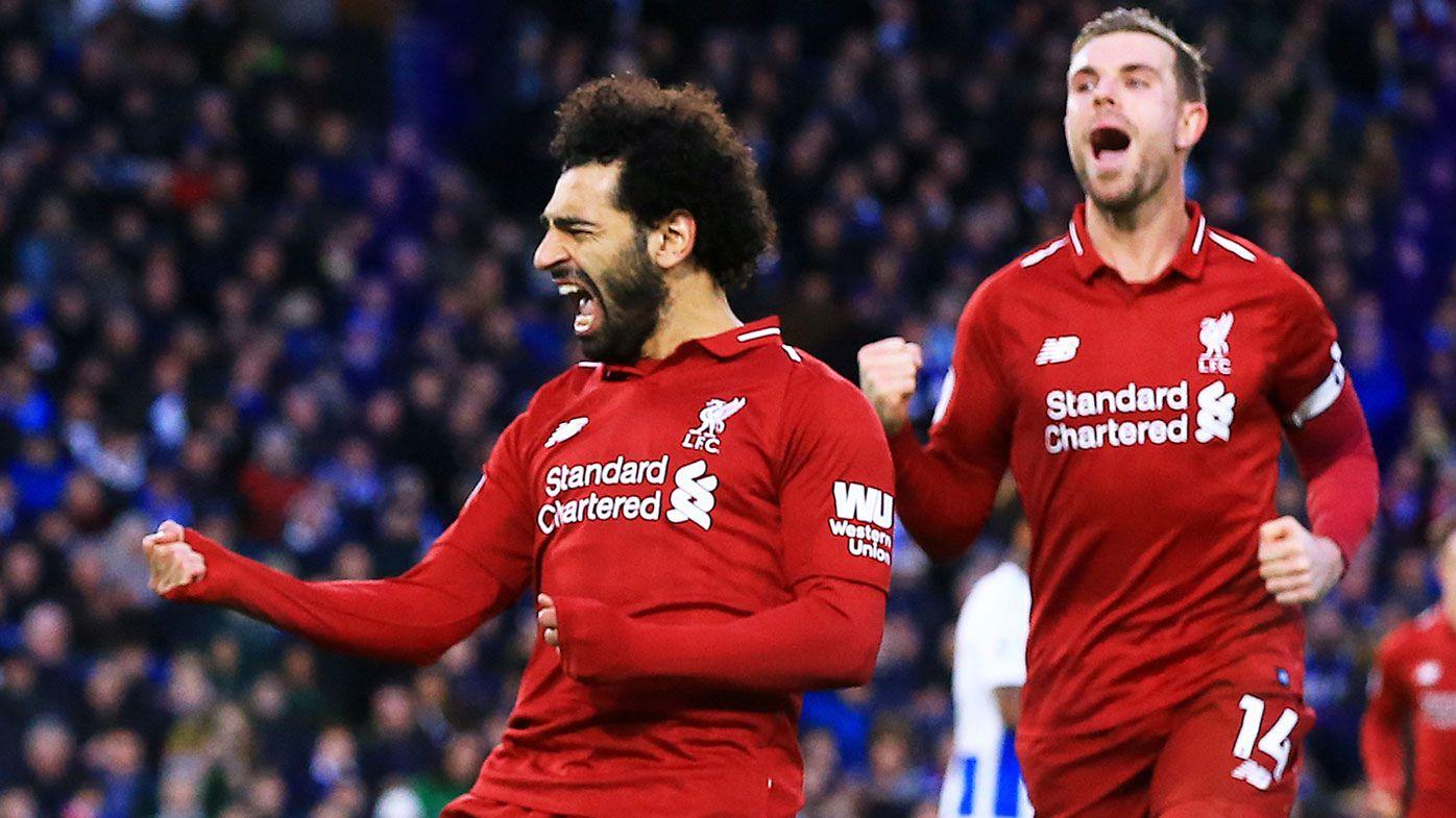 Mohamed Salah penalty extends Liverpool's Premier League lead, Arsenal slump