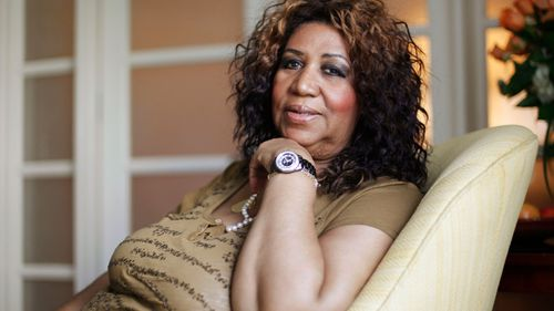 Aretha Franklin poses for a portrait in Philadelphia