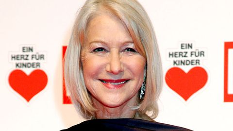 Helen Mirren is going to be on Glee... kind of