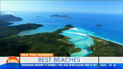 The top ten beaches in Australia have been revealed