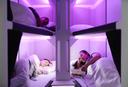 Air New Zealand Economy Skynest sleeping pods for long haul travel