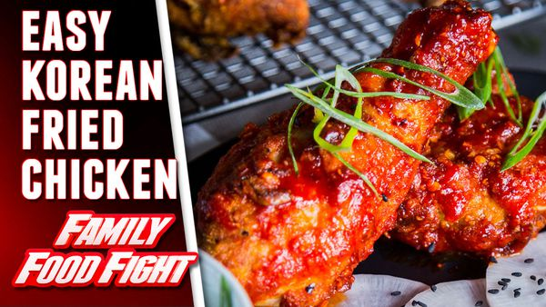 The Giles' Korean Fried Chicken with Pickled Daikon and Mayonnaise