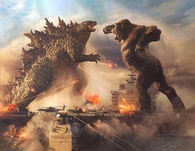 Biggest movies, 2021, Godzilla vs. Kong