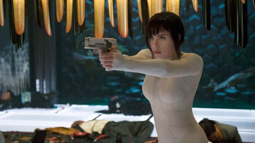 Johansson previously came under fire for playing an originally Asian character in the 2017 film Ghost in the Shell. Picture: AP