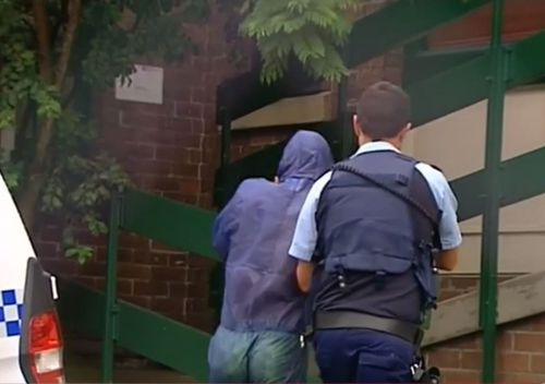 The 18-year-old alleged car thief will face court in Burwood this afternoon. (9NEWS)